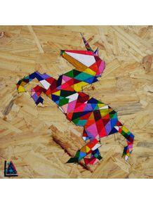 quadro-unicorn-geometric-colorful