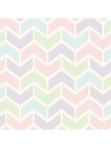 quadro-padrao-geometrico--tons-pastel-iv