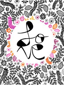 quadro-love-flowers