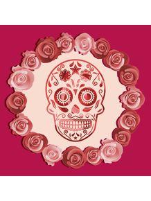 quadro-caveira-rosas-01
