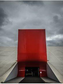 quadro-vermelho-e-cinza