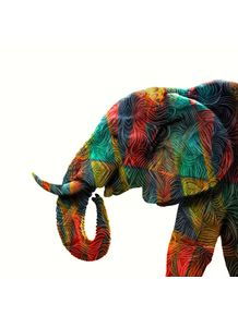 quadro-colorful-elephant