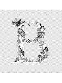 quadro-letter-b
