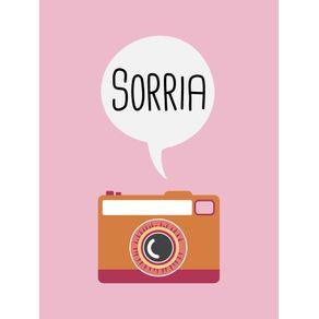quadro-sorria-camera-fotografia-rosa