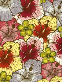 quadro-flores-hawaianas