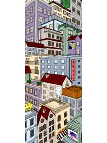 quadro-vertical-cityscape