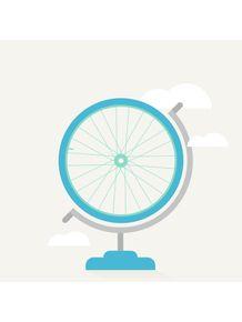 quadro-bike-globe