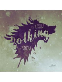 quadro-know-nothing-jon-snow