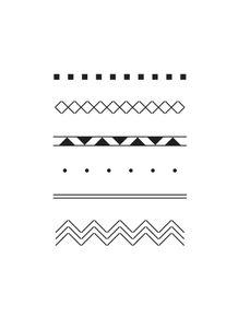 quadro-tribal-geometrico