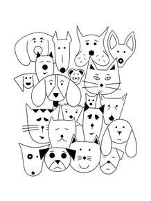 quadro-animals-gang