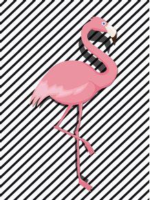 quadro-flamingo-fofo