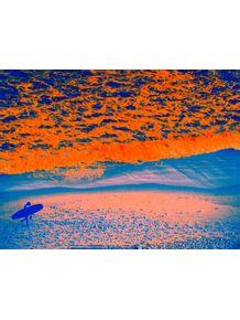quadro-surfista-alaranjado