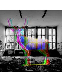 quadro-color-deers