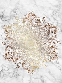 quadro-mandala--marble-gold
