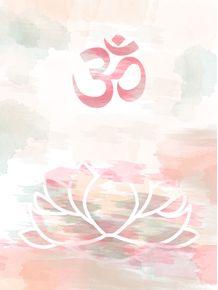 quadro-flor-de-lotus-om