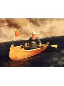 quadro-old-man-on-boat