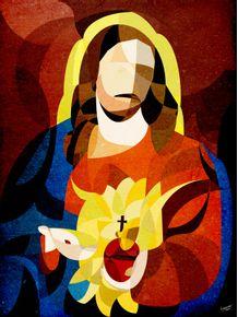 quadro-curves--sacred-heart-of-jesus