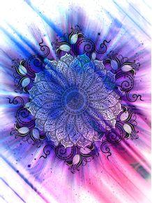 quadro-mandala--inverse-universe-ii