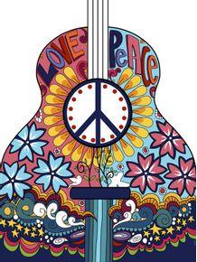 quadro-violao-hippie-i