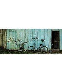 quadro-bicicleta-na-parede-azul