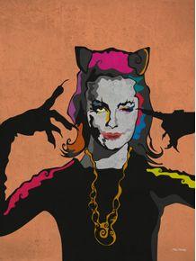 quadro-mulher-gato-divando