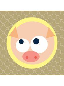 quadro-face-porquinho