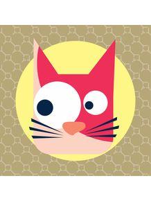 quadro-gatinho-rosa