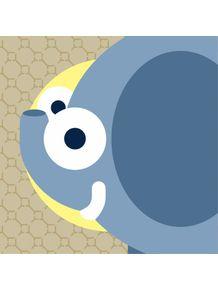 quadro-elefantinho-azul
