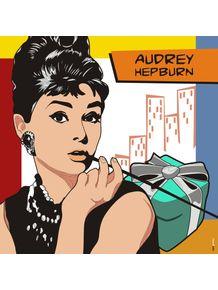 quadro-audrey-hepburn-atriz