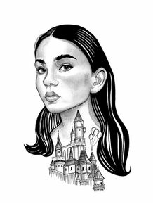 quadro-the-girl-and-the-castle