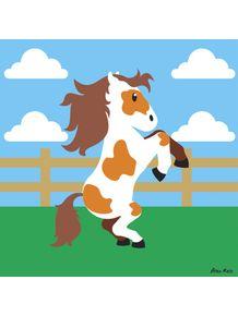 quadro-cavalo-malhado
