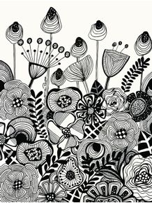 quadro-jardim-preto-e-branco