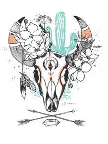 quadro-mystic-skull