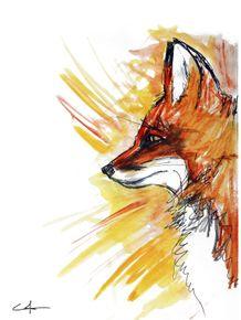 quadro-zorro-um-rayas