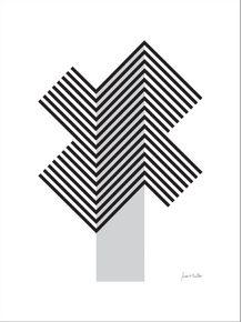 quadro-geometrico-cinza-e-preto