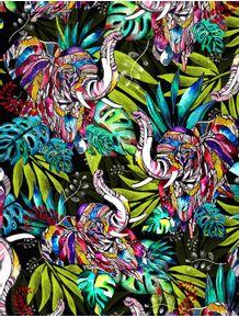 quadro-elephant-jungle-ii