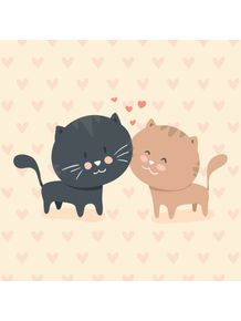 quadro-cat-love-2