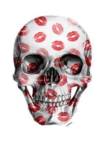 quadro-kisses-skull