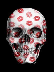 quadro-kisses-skull-ii