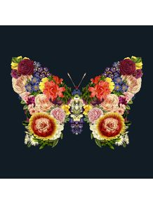 quadro-spring-butterfly-floral