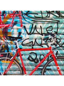 quadro-bicicleta-vermelha