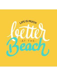 quadro-beach-love