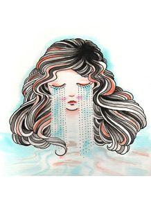 quadro-mulher-chorando