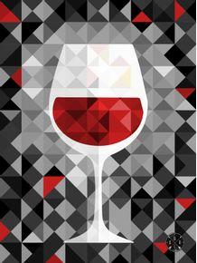 quadro-geometric-wine