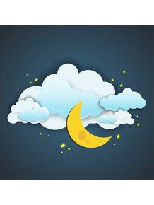quadro-ceu-com-nuvens