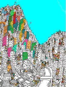 quadro-favela-brasileira