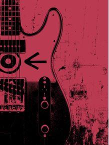 quadro-guitarra-telecaster--eddie-vedder-pearl-jam