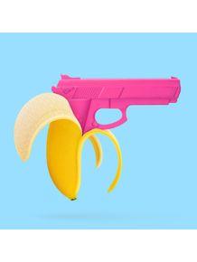 quadro-banana-gun