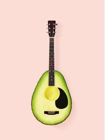 quadro-avocado-guitar