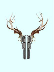 quadro-gun-skull